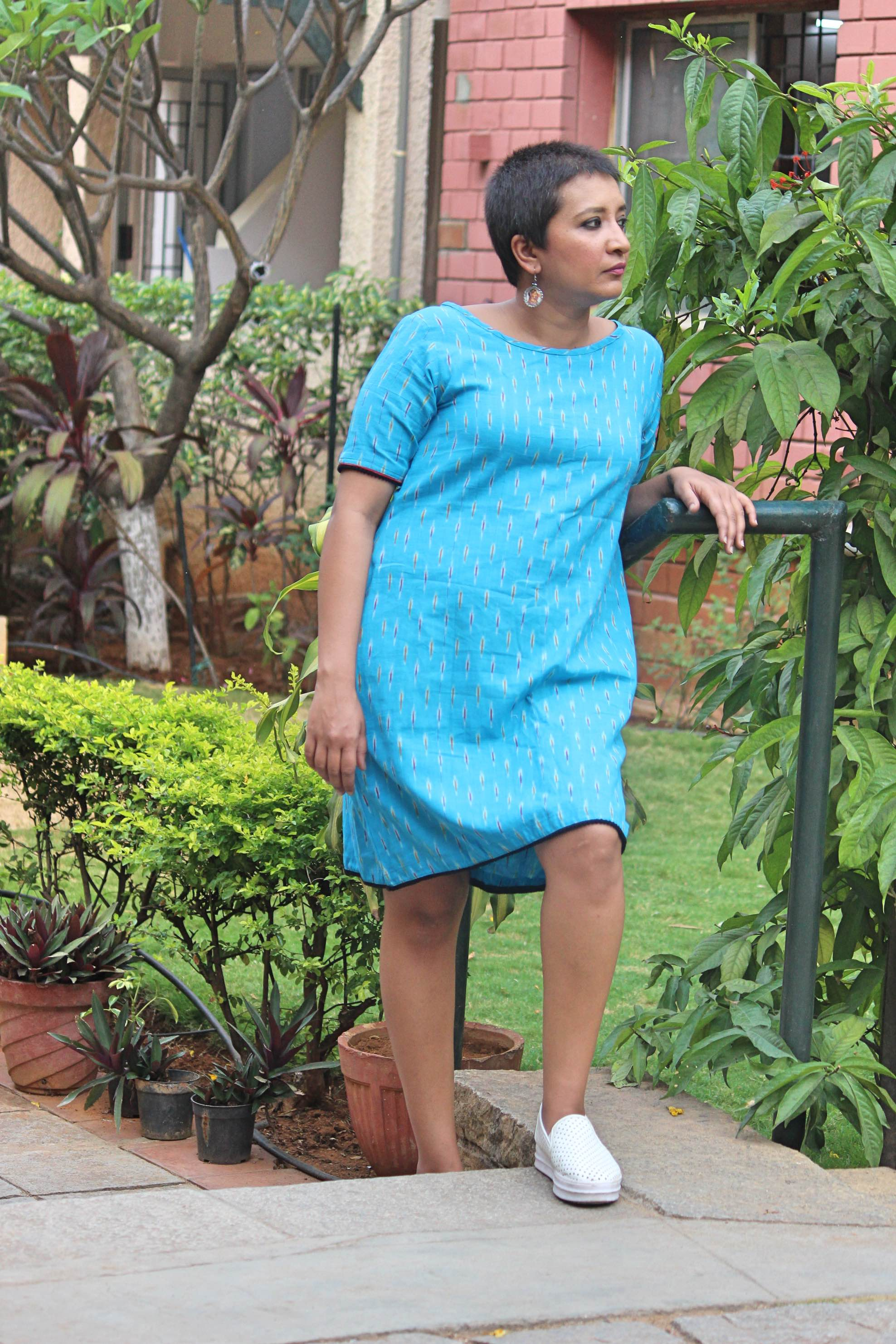 Ikat Shift Dress