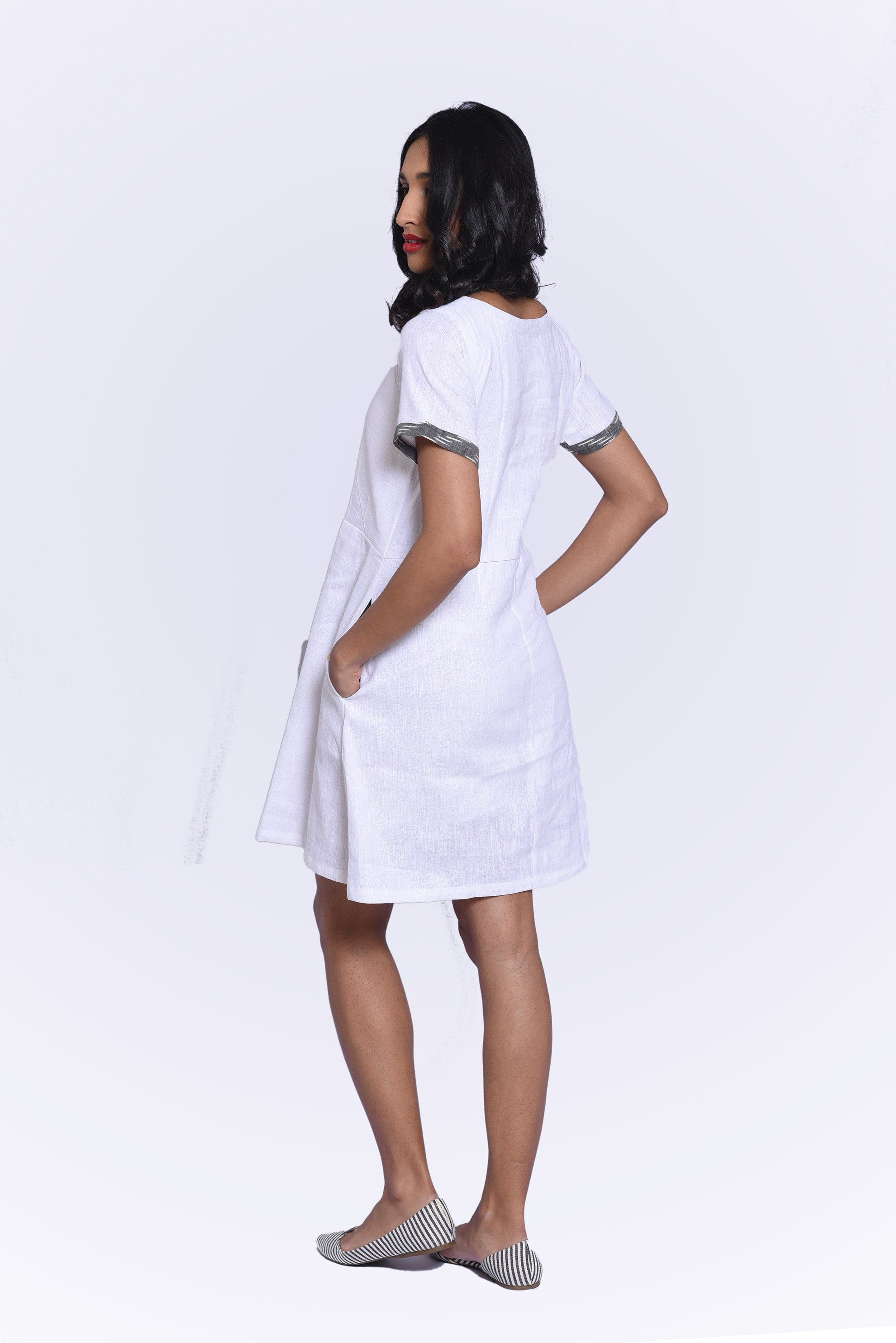 Khadi Shift Dress