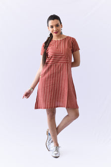Stripe Box Dress