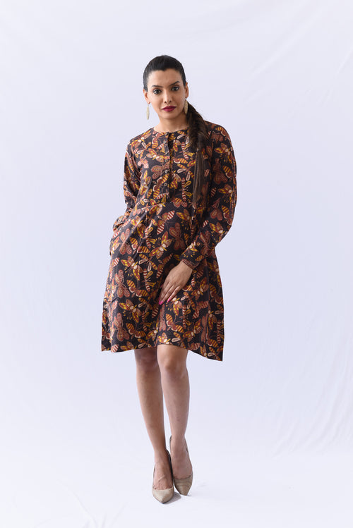 Kalamkari Shift Dress