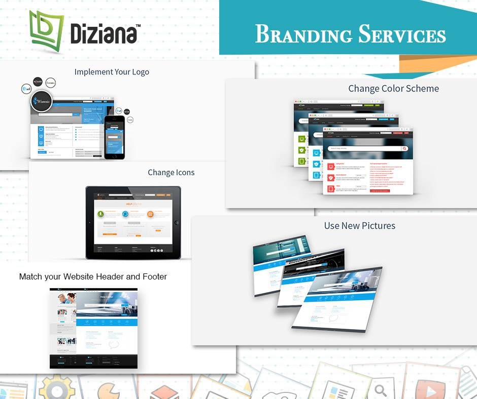 Branding Service - Diziana Zendesk Themes, Design, Branding and more.