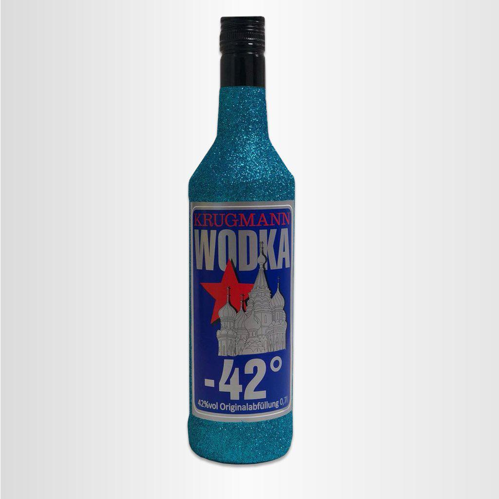 WODKA -42° Glitzerflasche