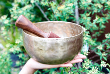 Old 'Tara' Singing Bowl - Base Note D# (158 hz )
