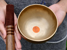 12 cms Contemporary Flow Singing Bowl - Base note A# (453) Hz