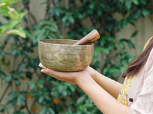 Old 'Tara' Singing Bowl - Base Note  G# (208 Hz)