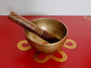 13 cms Contemporary Flow Singing Bowl - Base note F (354) Hz