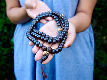 Impermanence Polished Bone Mala