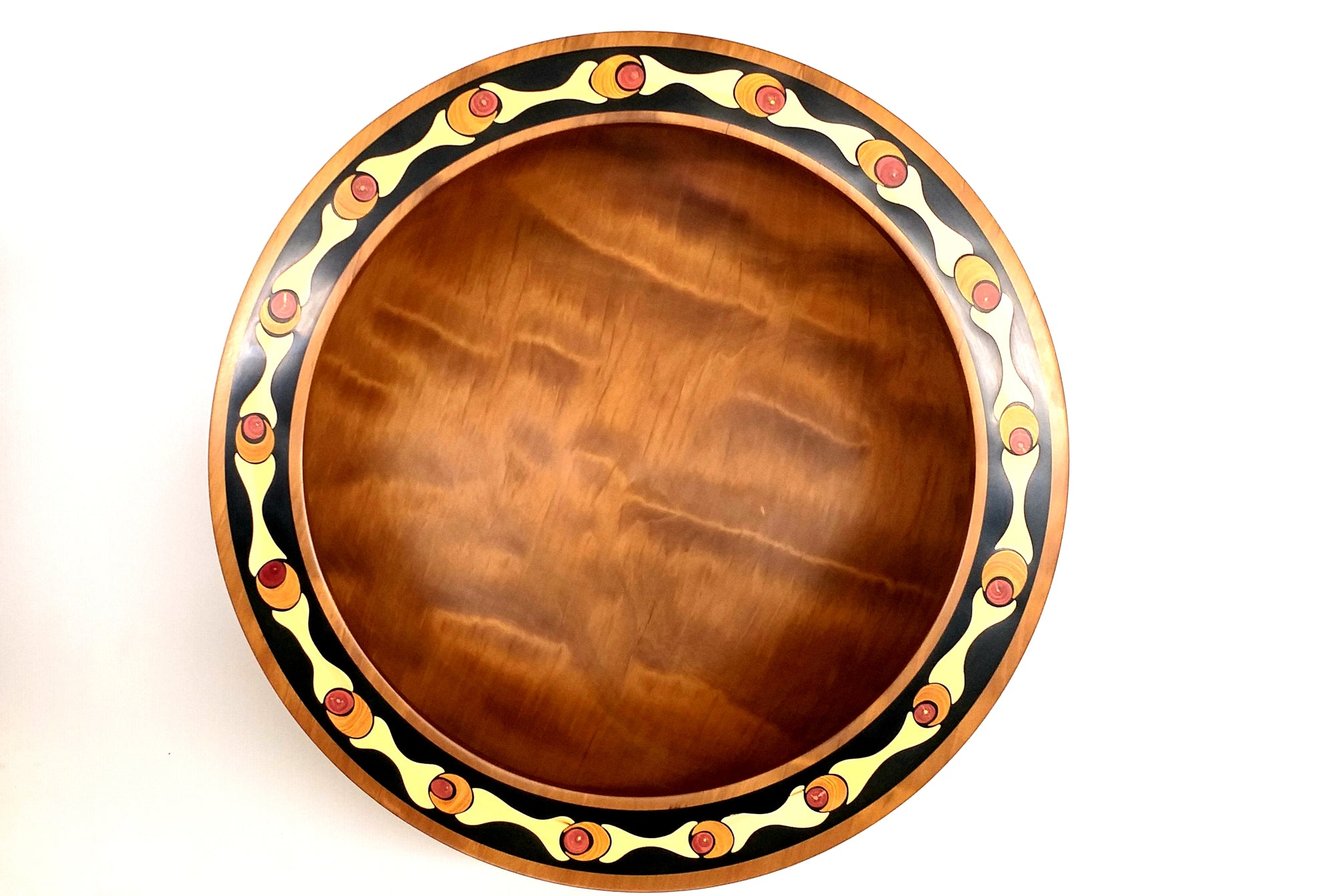 Giant Kauri Decorated Bowl