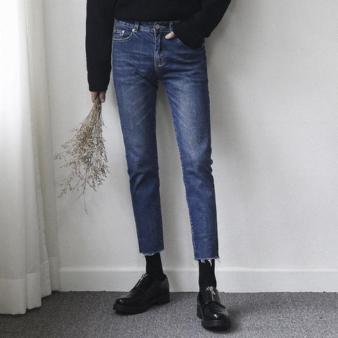 4654 HD JEANS IN DARK BLUE