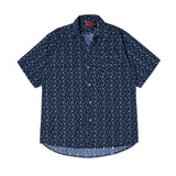 Polka Dots Shirt In Blue
