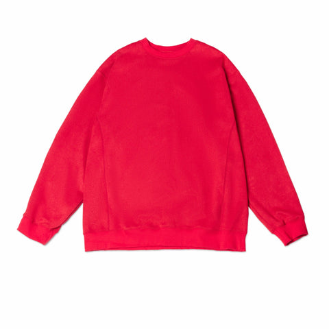 #1 Suede Sweater in Red