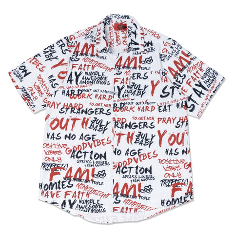 Words Printed Shirt