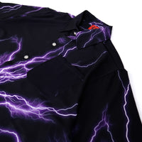 PURPLE THUNDER SHIRT IN BLACK