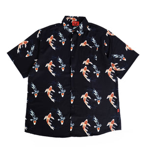 KOI SHIRT IN BLACK