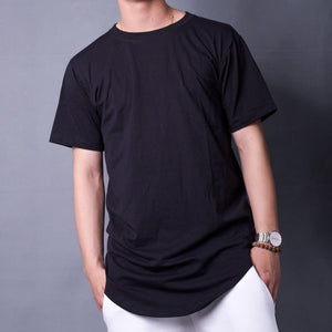LONG TEE BASIC-BLACK