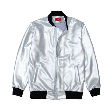 7360 BOMBER JACKET IN SILVER