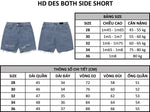 HD Des Both Side Short