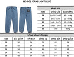 HD Des Jeans Light Blue