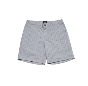 GREY PLAID SHORT