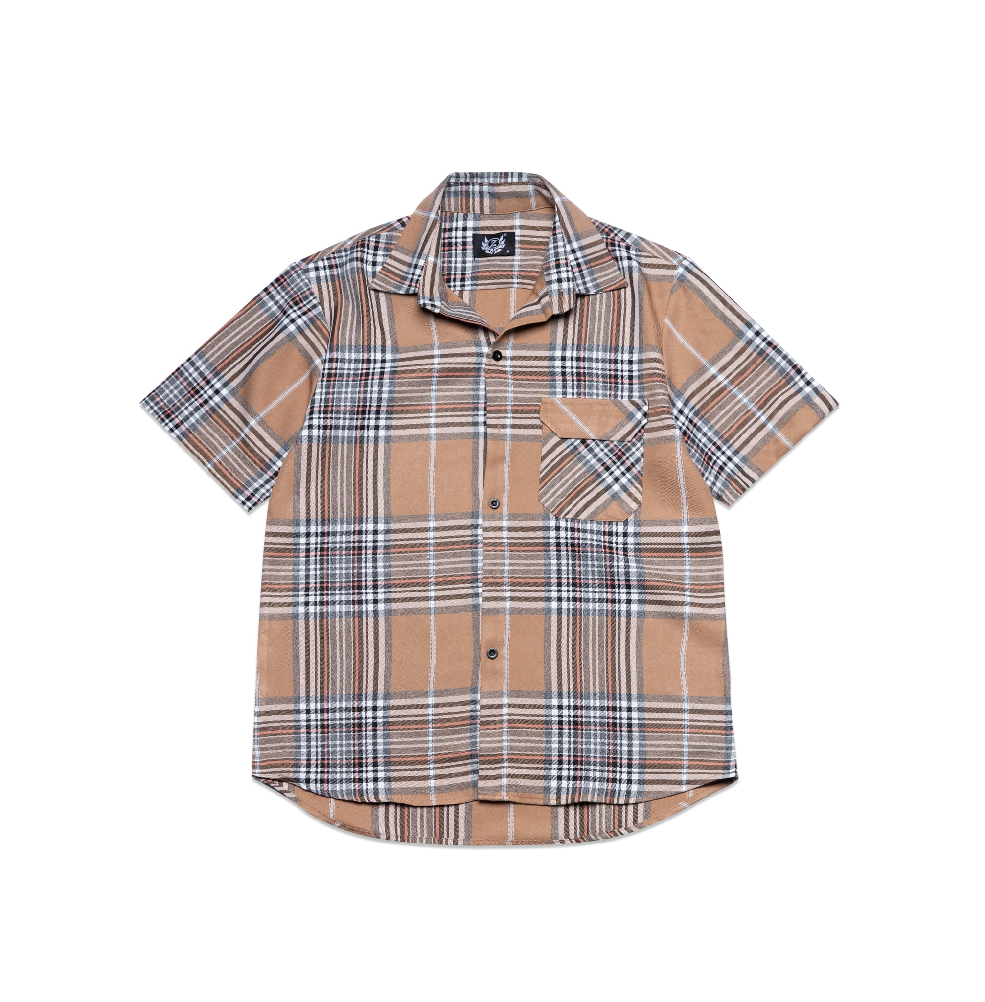 SET BROWN PLAID