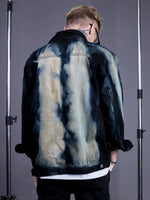 TIEDYE JACKET JEANS BLUE