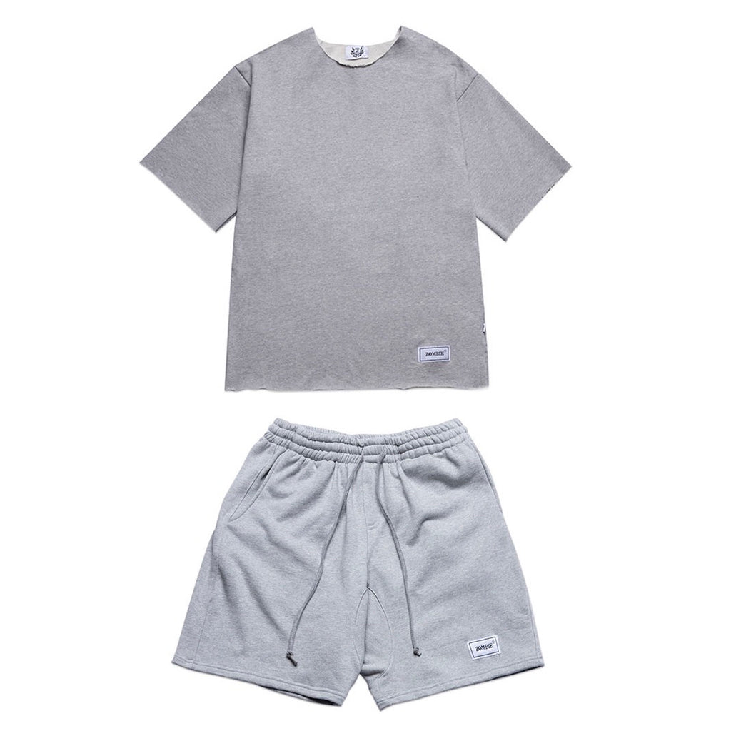 SET SHORT SLEEVE TEE IN GRAY