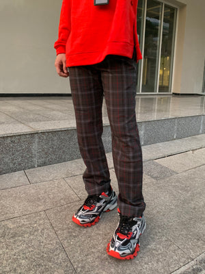 8001 STRAIGHT FIT PLAID