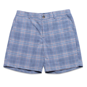 BLUE PLAID SHORT