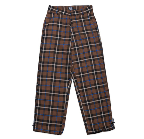 FLANNEL STRAIGHT FIT PANTS