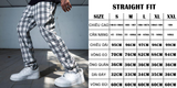 Straight Fit Trousers - Black