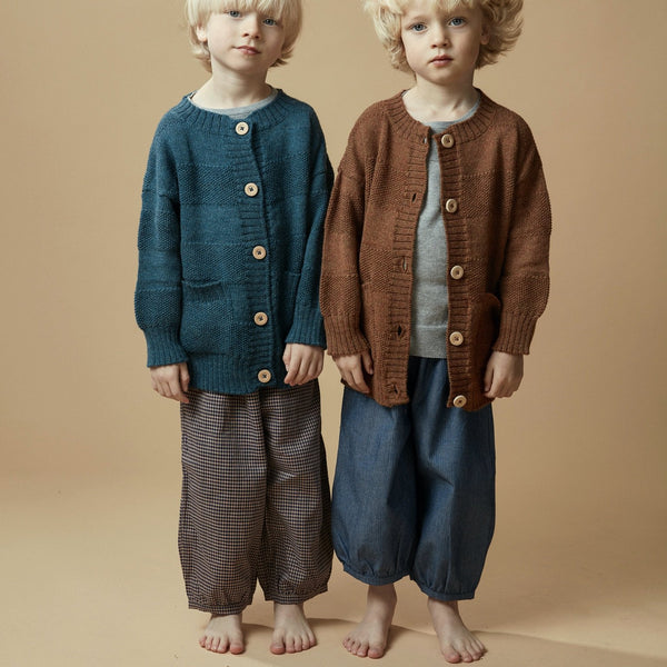 pantalon enfants en pima coton par As We Grow, slow fashion, Marques Islandais,