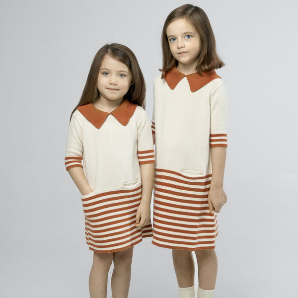 As We Grow, robe enfants en pima coton, vintage robe enfants