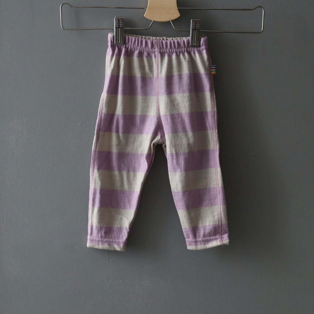 legging enfants eco laine merinos, equitable, laine ecolabel, Joha DK, rose nature