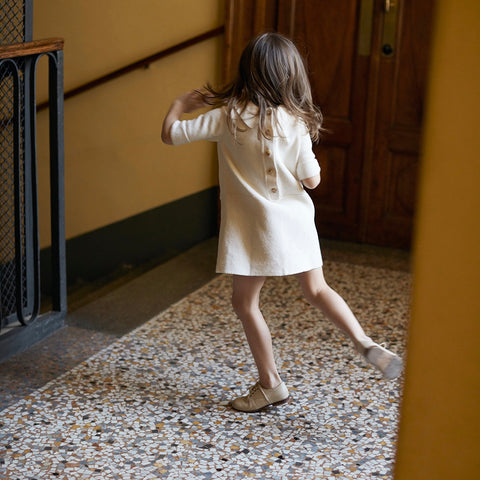 As We Grow, robe soeur enfant en pima coton, vintage robe enfants
