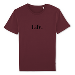 T-shirt LIFE - 100% coton bio (4 coloris)