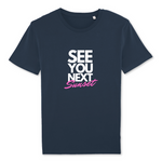 T-shirt SEE U NEXT SUNSET - 100% coton bio (3 coloris)