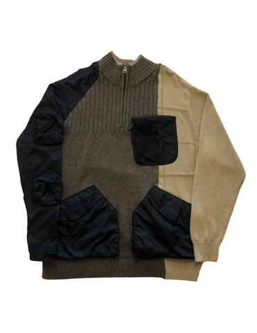 Reconstructed Military Sweater