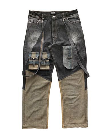 Reconstructed Rusted Denim