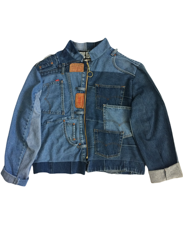 Upcycle Denim Jacket
