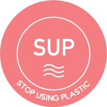 Stop Using Plastic SUP Logo