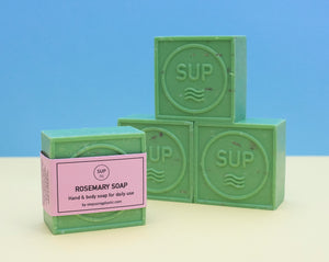 Rosemary soap bar