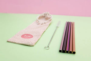 Individual Metal Straw - Choose your colour