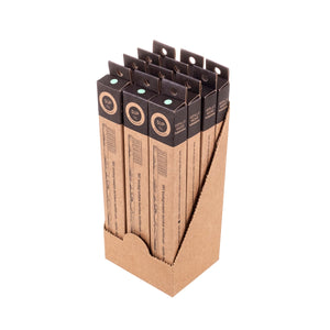 12 Pack Bamboo Toothbrush - Medium Turquoise Bristle