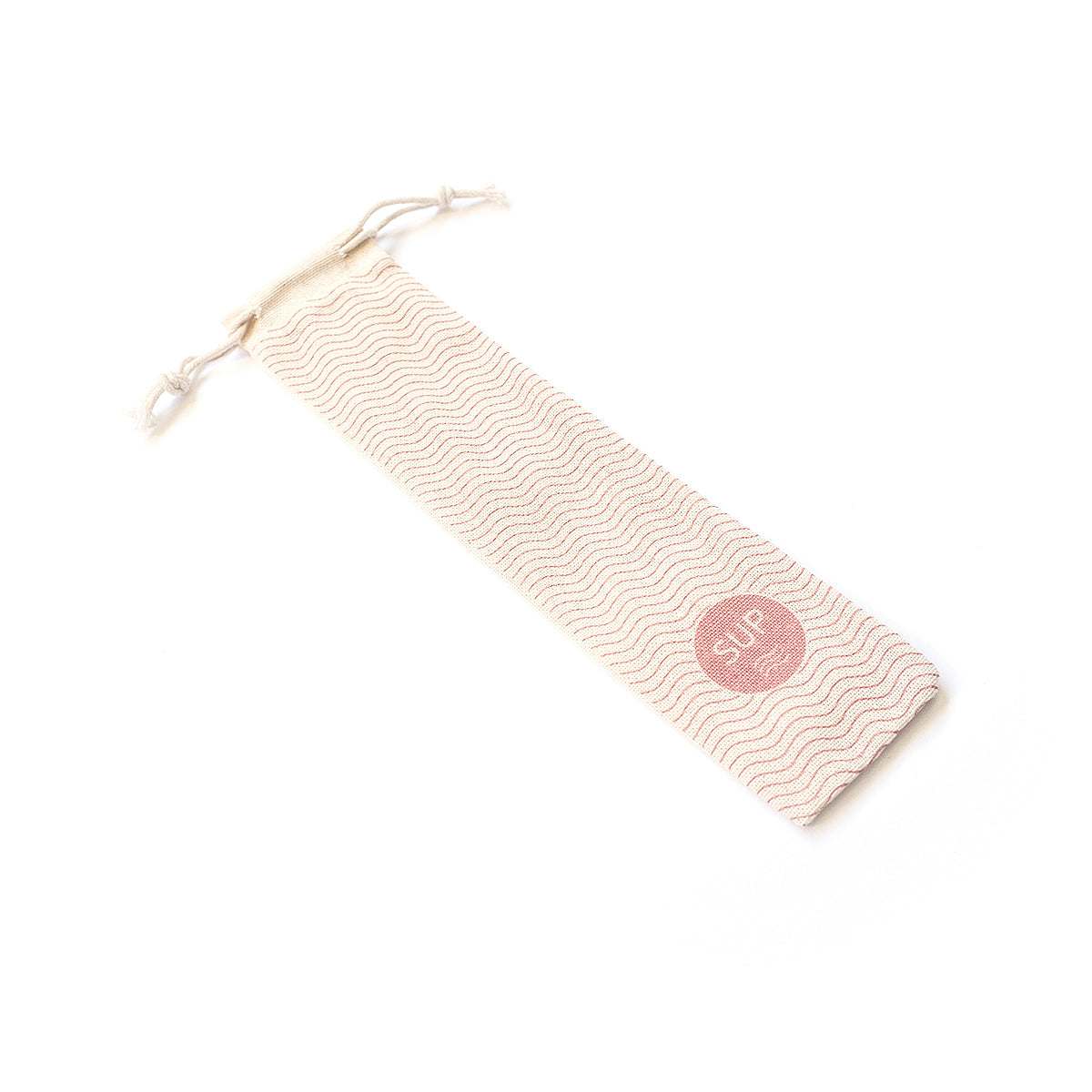 Linen pouch for Metal and Bamboo Straws