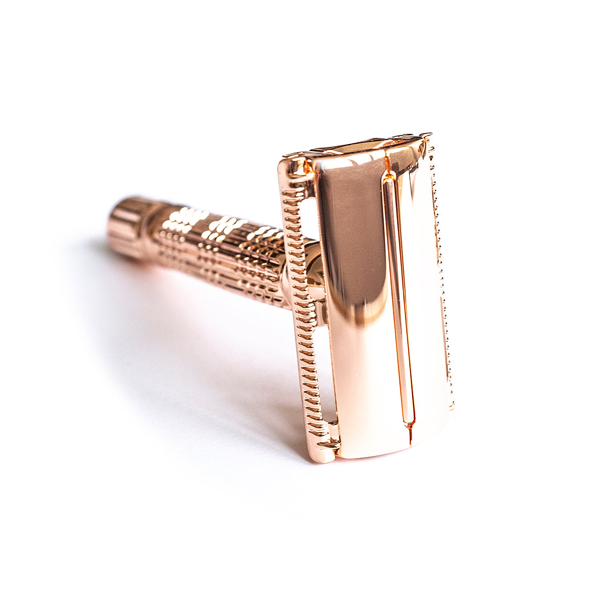 Butterfly safety metallic razor  - Pink