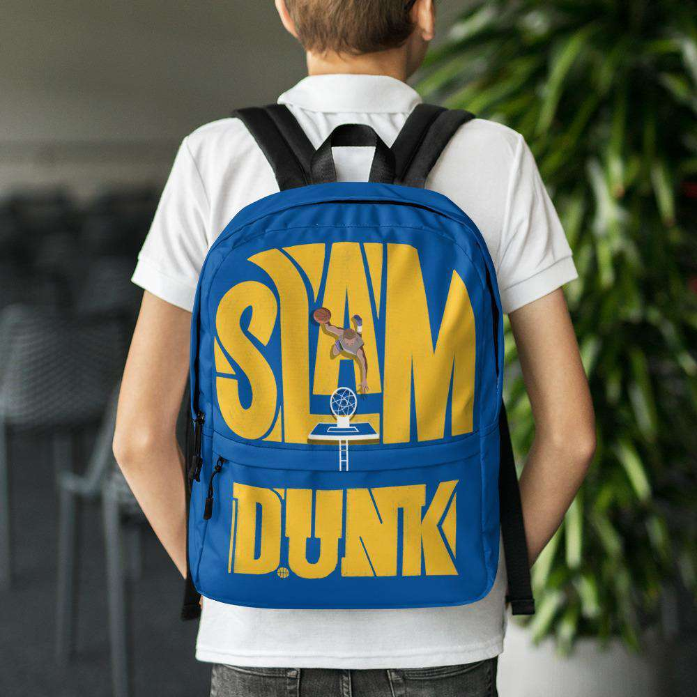 Slam Dunk Blue Backpack