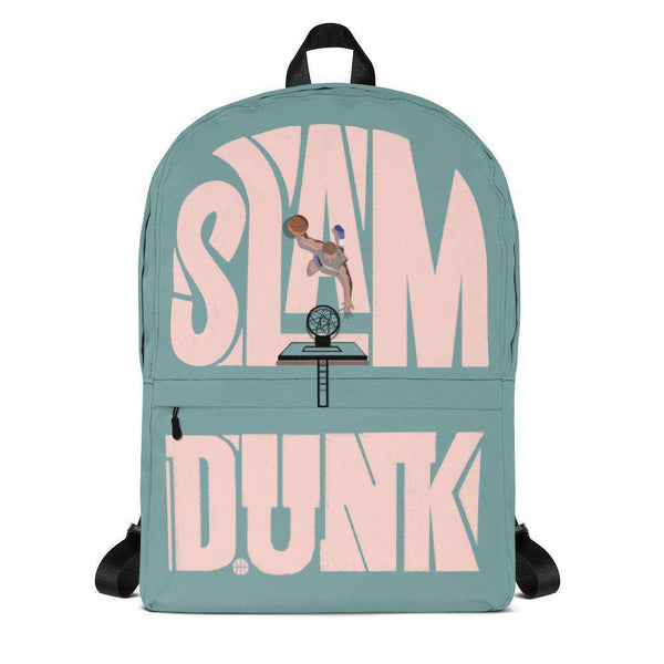 Slam Dunk Green Backpack