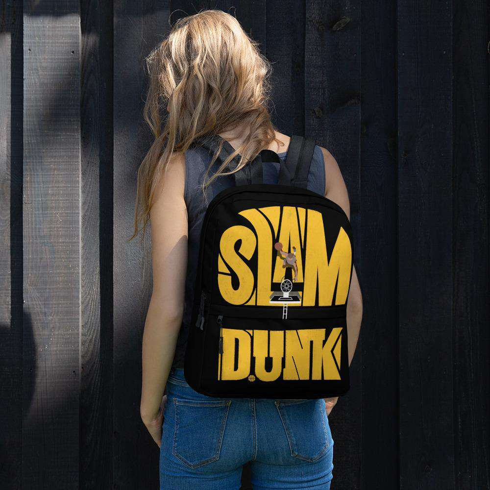 Slam Dunk Black Backpack
