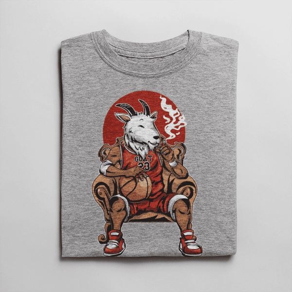 Men's G.O.A.T Gray T-Shirt