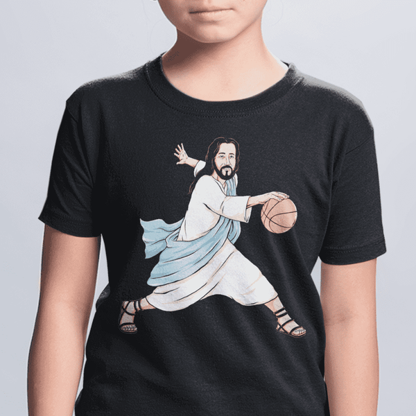 Youth Jesus Crossover Black T-Shirt